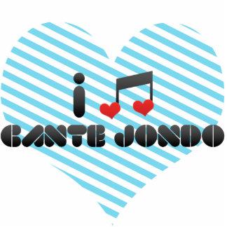 I Love Cante Jondo Acrylic Cut Out