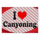 I love Canyoning Cards