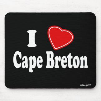 I Love Cape Breton Mouse Pad