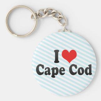 I Love Cape Cod Key Chains