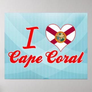 I Love Cape Coral, Florida Poster