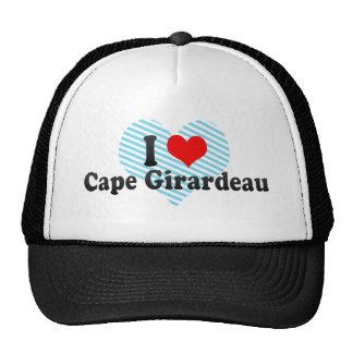 I Love Cape Girardeau, United States Hats