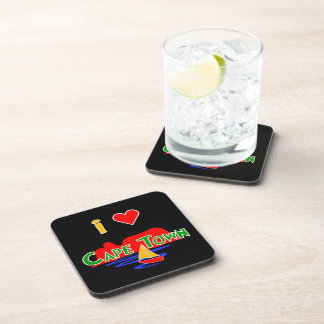 I Love Cape Town Set of 6 Cork Coasters