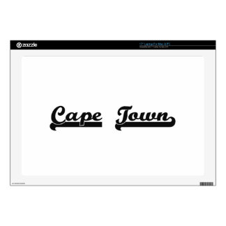 """I love Cape Town South Africa Classic Design Decals For 17"""" Laptops"""