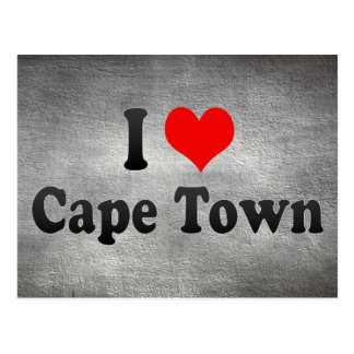 I Love Cape Town, South Africa Postcard