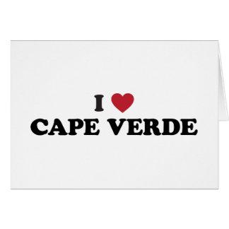 I Love Cape Verde Card