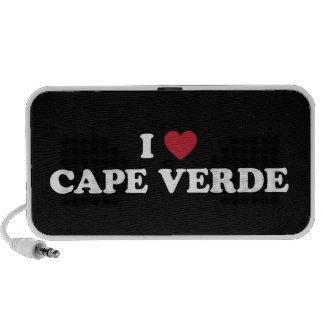 I Love Cape Verde Mini Speaker