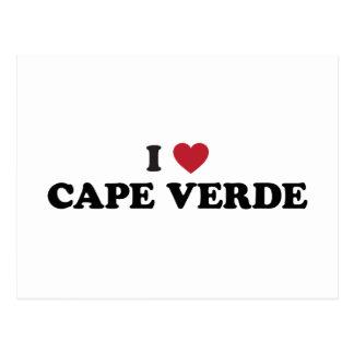 I Love Cape Verde Postcard