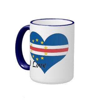 I love Cape Verde Ringer Mug
