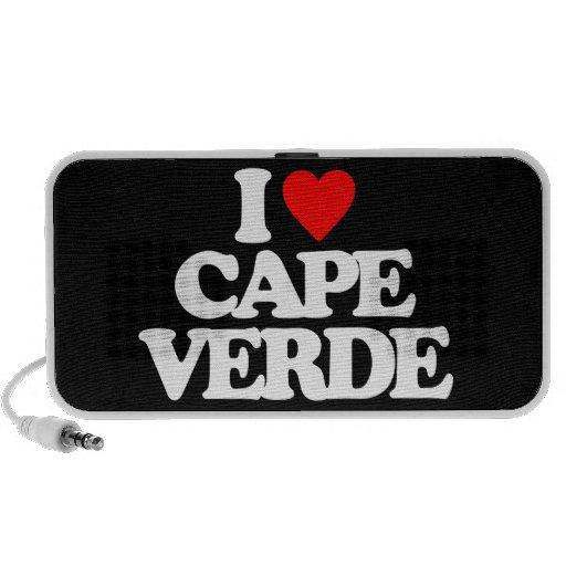 I LOVE CAPE VERDE TRAVEL SPEAKERS