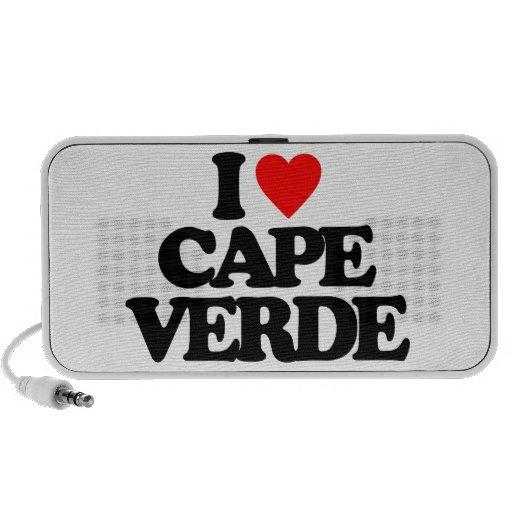 I LOVE CAPE VERDE NOTEBOOK SPEAKER