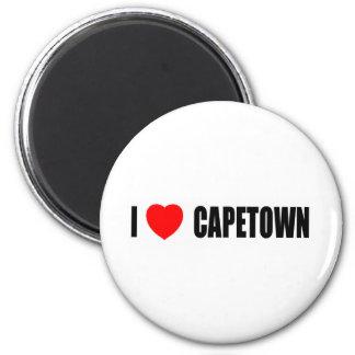 I Love Capetown 2 Inch Round Magnet