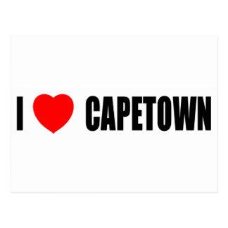 I Love Capetown Postcard