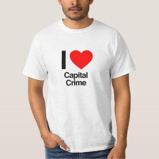 i love capital crime T-Shirt