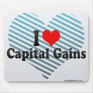 I Love Capital Gains Mouse Pad