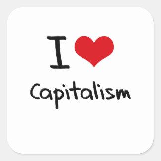 I love Capitalism Stickers