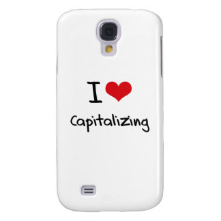 I love Capitalizing Galaxy S4 Cases