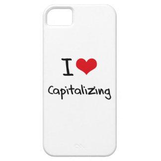 I love Capitalizing iPhone 5 Case