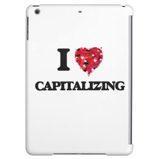 I love Capitalizing Cover For iPad Air