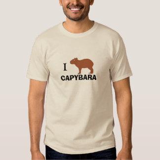 I Love Capybara Shirt