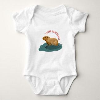 I love capybaras baby bodysuit