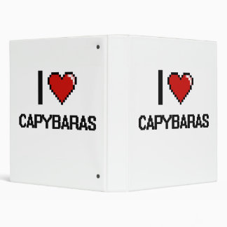 I love Capybaras Digital Design Binders