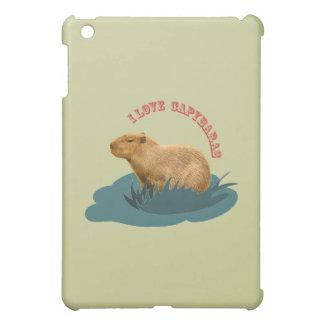 I love capybaras iPad mini covers