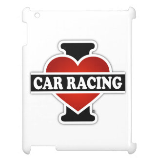 I Love Car Racing Case For The iPad 2 3 4