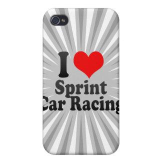 I love Car Racing iPhone 4 Covers