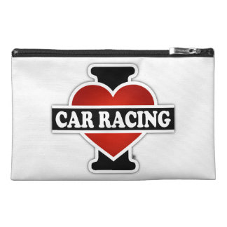 I Love Car Racing Travel Accessories Bags