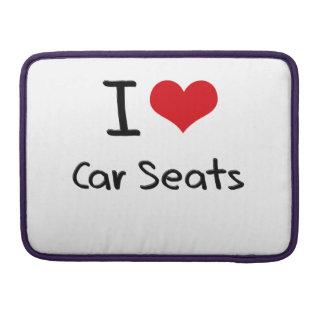 I love Car Seats Sleeve For MacBooks