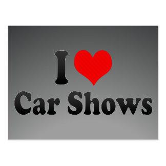 I love Car Shows Postcard
