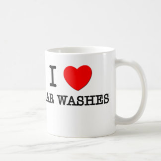 I Love Car Washes Coffee Mug