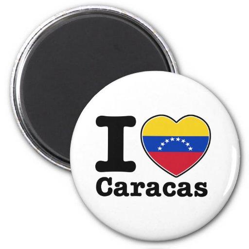 I love Caracas Fridge Magnets