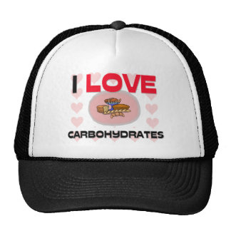 I Love Carbohydrates Trucker Hats