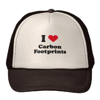 I love carbon footprints mesh hats