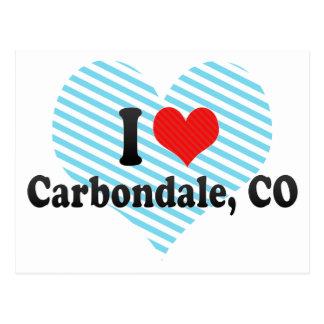 I Love Carbondale, CO Postcard