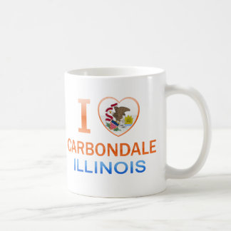 I Love Carbondale, IL Classic White Coffee Mug
