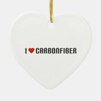 I love carbonfiber ceramic ornament