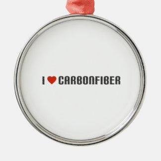 I love carbonfiber metal ornament