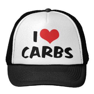 I Love Carbs Trucker Hat