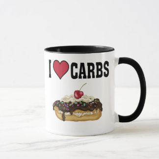 I Love Carbs Mug
