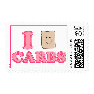 I love Carbs Postage