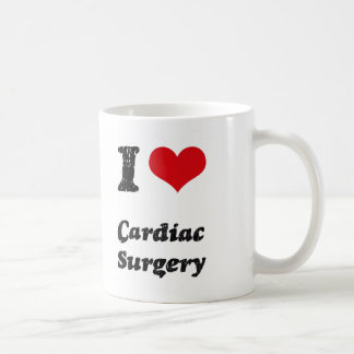 I love Cardiac Surgery Classic White Coffee Mug