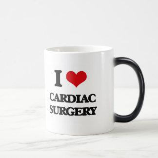 I love Cardiac Surgery 11 Oz Magic Heat Color-Changing Coffee Mug