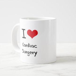 I love Cardiac Surgery 20 Oz Large Ceramic Coffee Mug