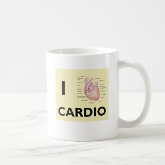 I Love Cardio Coffee Mug