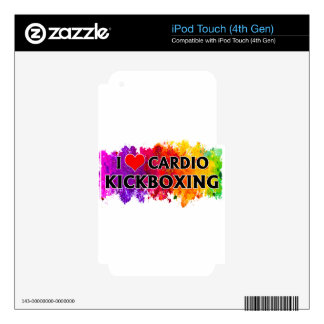 I Love Cardio Kickboxing iPod Touch 4G Decal