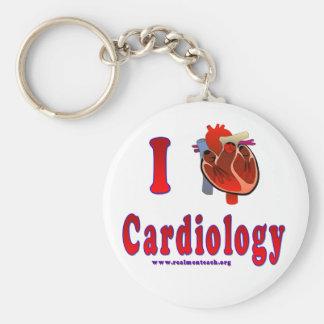 I Love Cardiology Key Chains