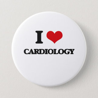 I love Cardiology Pinback Button